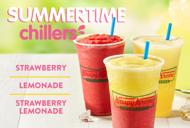 Try Our Summer Chillers
