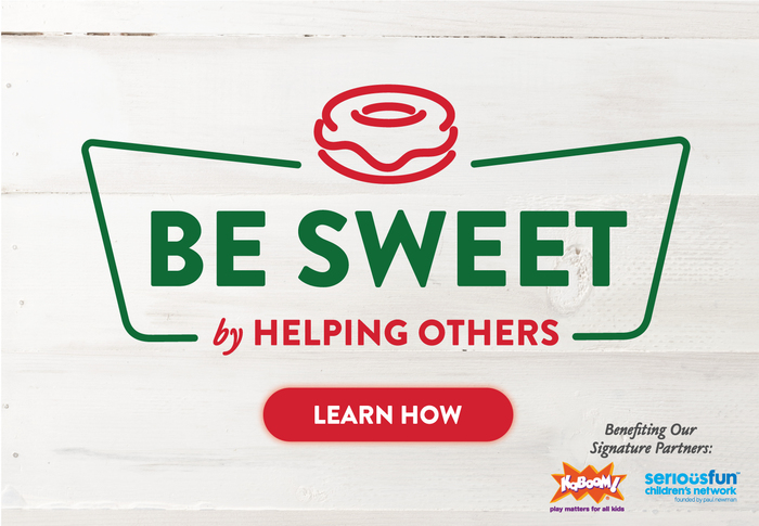 Be Sweet by Helping Others. Learn How. Beginning March 4th