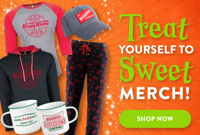 Treat yourself to sweet merch!