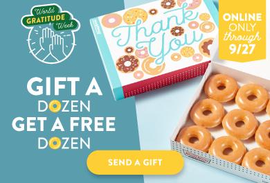Gift A Dozen, Get a Free Dozen!