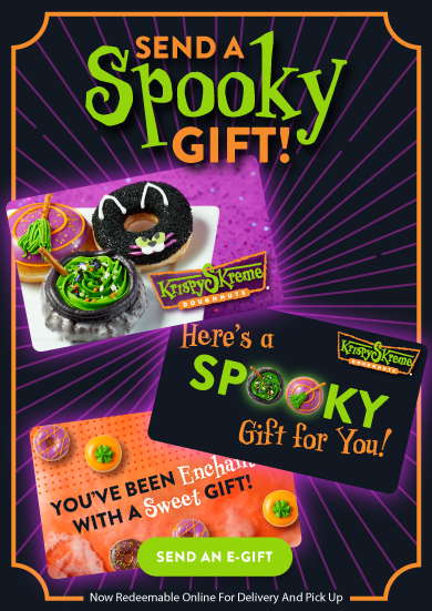 Send a spooky gift! Order halloween gift cards today!