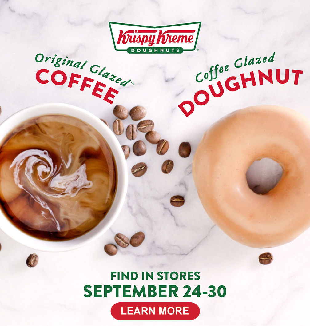 Coffee Glaze Doughnut from September 24 to 30