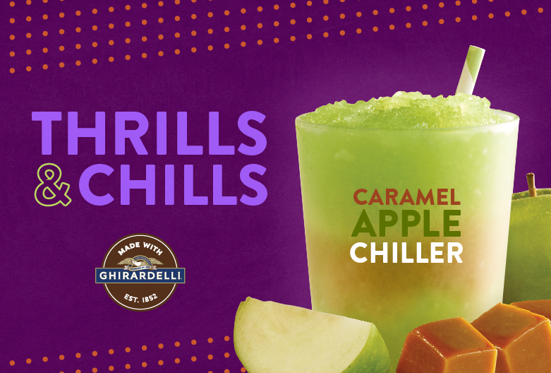 Thrills and Chills - Caramel Apple Chiller