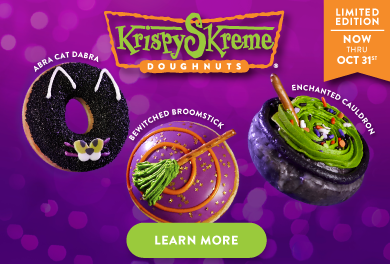 Learn more about our Halloween doughnuts!
