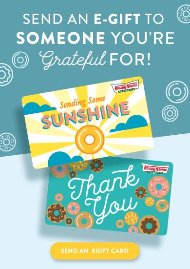 Order a gift card for World Gratitude Week