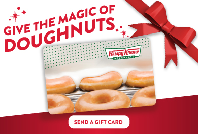 give the magic of doughnuts for the holidays.