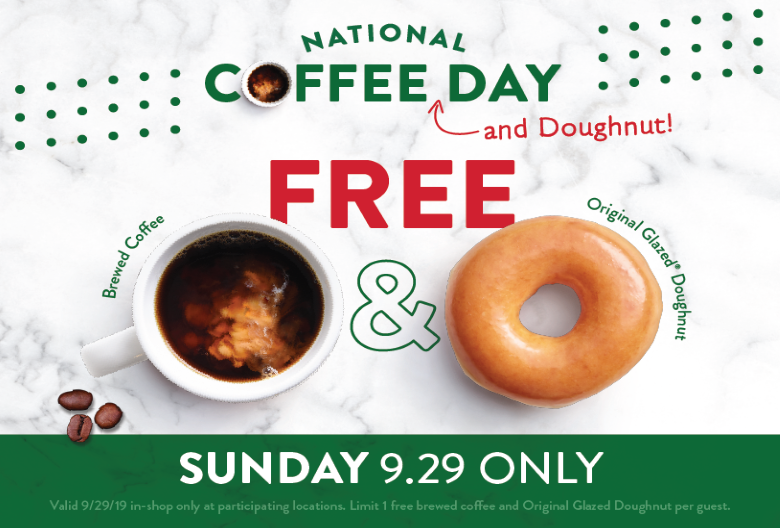 National Coffee Day coming soon!