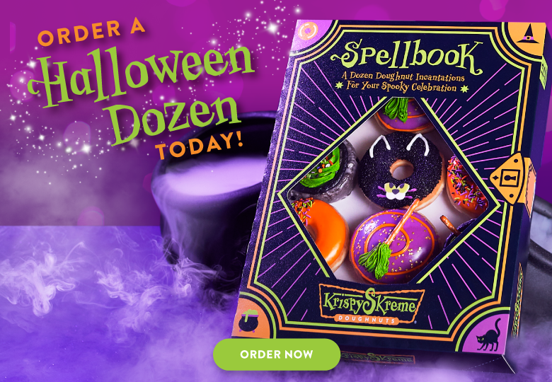 Order a limited edition Halloween dozen today!