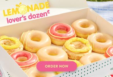 Order Lemonade Glaze Doughnuts today