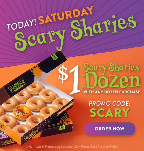 Order $1 dozen scary sharies today only!