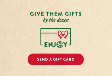 Give Krispy Kreme gift cards.