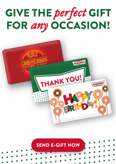 Give the Gift of Krispy Kreme