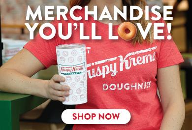 Shop Krispy Kreme Merchandise.