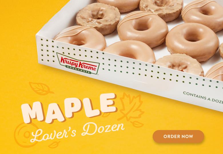 Order Maple Lover's Dozen Now
